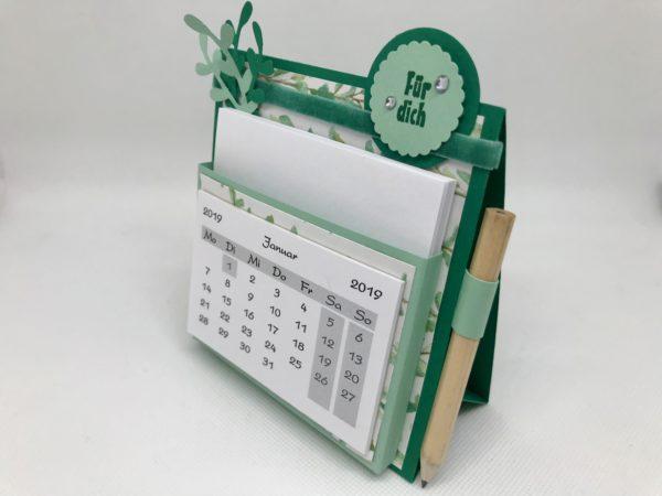 Tischkalender grün