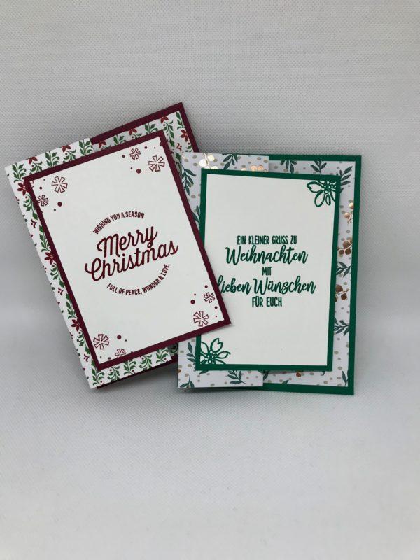 Grusskarten Weihnachten diverse