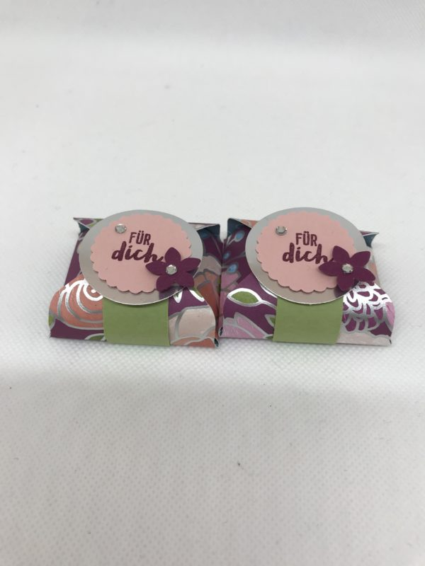 Geschenkverpackung Schokoladenwürfel